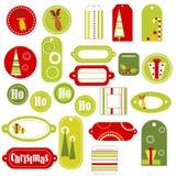 Elementos do projeto do Natal Fotografia de Stock