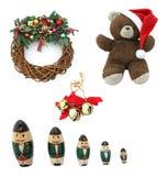 Elementos do projeto do Natal Imagens de Stock Royalty Free