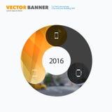 Elementos do projeto do vetor do negócio para a disposição gráfica Resumo moderno Fotografia de Stock Royalty Free