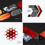 Elementos do projeto do vetor do negócio para a disposição gráfica Resumo moderno Fotografia de Stock