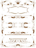 Elementos do projeto do vintage Foto de Stock Royalty Free