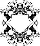 Elementos do projeto floral do vetor Foto de Stock