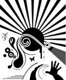 Elementos do projeto - ilustração abstrata Fotografia de Stock Royalty Free