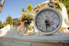 Elementos do projeto para o casamento Imagem de Stock Royalty Free