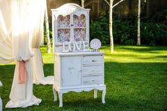 Elementos do projeto para o casamento Imagens de Stock Royalty Free