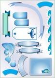Elementos do Scrap-book Imagens de Stock
