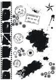 Elementos do vetor de Grunge Fotografia de Stock Royalty Free