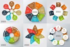 Elementos do vetor para infographic Fotografia de Stock Royalty Free