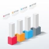 Elementos do vetor para infographic Fotos de Stock