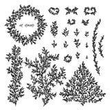 Elementos do vetor para o projeto ilustração royalty free