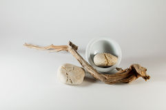 Elementos do zen - Wabi Sabi imagem de stock royalty free