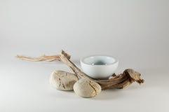 Elementos do zen - Wabi Sabi foto de stock