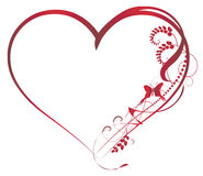 Elementos dos fundos do Valentim Imagem de Stock
