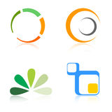 Elementos dos logotipos/logotipo da companhia Imagens de Stock