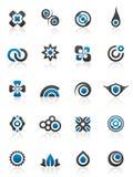 Elementos e gráficos do projeto ilustração do vetor