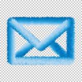 Elementos Eps10 de la web del vector del icono de la web del correo ilustración del vector