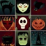 Elementos escuros Imagens de Stock