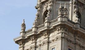 Elementos espanhóis da arquitetura Fotografia de Stock