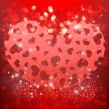 Elementos felices del día de tarjetas del día de San Valentín y del diseño del weeding Fotografía de archivo libre de regalías