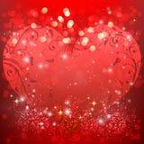 Elementos felices del día de tarjetas del día de San Valentín y del diseño del weeding Imagen de archivo