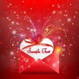Elementos felices del día de tarjetas del día de San Valentín y del diseño del weeding Imagen de archivo libre de regalías