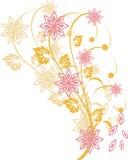 Elementos florais Fotos de Stock