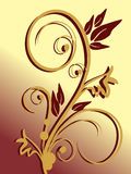 Elementos florais Imagem de Stock Royalty Free