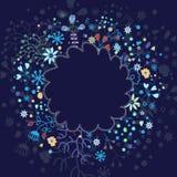 Elementos florais da mola Fotografia de Stock