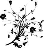 Elementos florais para o projeto,   ilustração royalty free