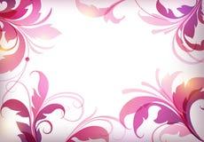 Elementos florales del vector Fotografía de archivo libre de regalías
