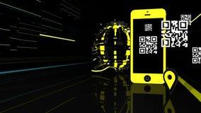 Elementos futuristas da Web Imagem de Stock Royalty Free