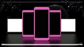 Elementos futuristas das telecomunicações Imagens de Stock Royalty Free