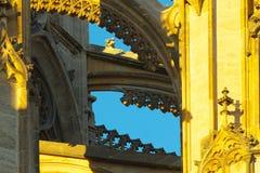 Elementos góticos Imagens de Stock Royalty Free