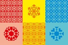 Elementos geométricos abstratos Imagens de Stock