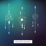 Elementos geométricos de alta qualidade Imagem de Stock Royalty Free