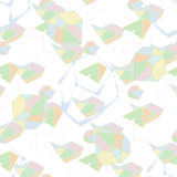 Elementos geométricos de moda Vector Aislado Foto de archivo libre de regalías