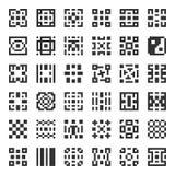 Elementos geométricos do vetor Foto de Stock