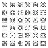 Elementos geométricos do vetor Fotos de Stock Royalty Free