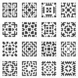 Elementos geométricos do vetor Fotografia de Stock