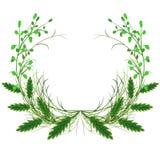 Elementos gráficos florales lindos para su boda y stock de ilustración
