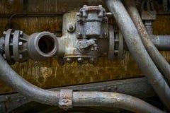 Elementos hidráulicos Fotos de Stock Royalty Free