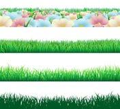 Elementos inconsútiles de la hierba libre illustration