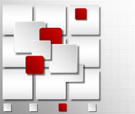 Elementos infographic abstractos 3D Fotos de archivo libres de regalías