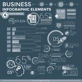 Elementos infographic del asunto Imagen de archivo libre de regalías