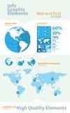 Elementos infographic del asunto de la alta calidad Foto de archivo libre de regalías