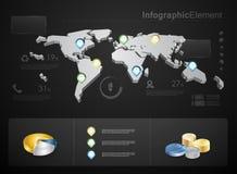 Elementos infographic del asunto de la alta calidad Imágenes de archivo libres de regalías