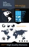 Elementos infographic del asunto de la alta calidad Imagen de archivo libre de regalías