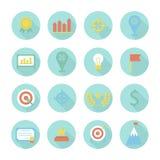 Elementos infographic do projeto do negócio e da finança ilustração stock