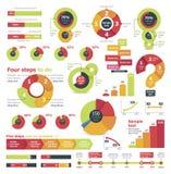 Elementos infographic do vetor ilustração stock