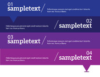 Elementos infographic do vetor Imagem de Stock